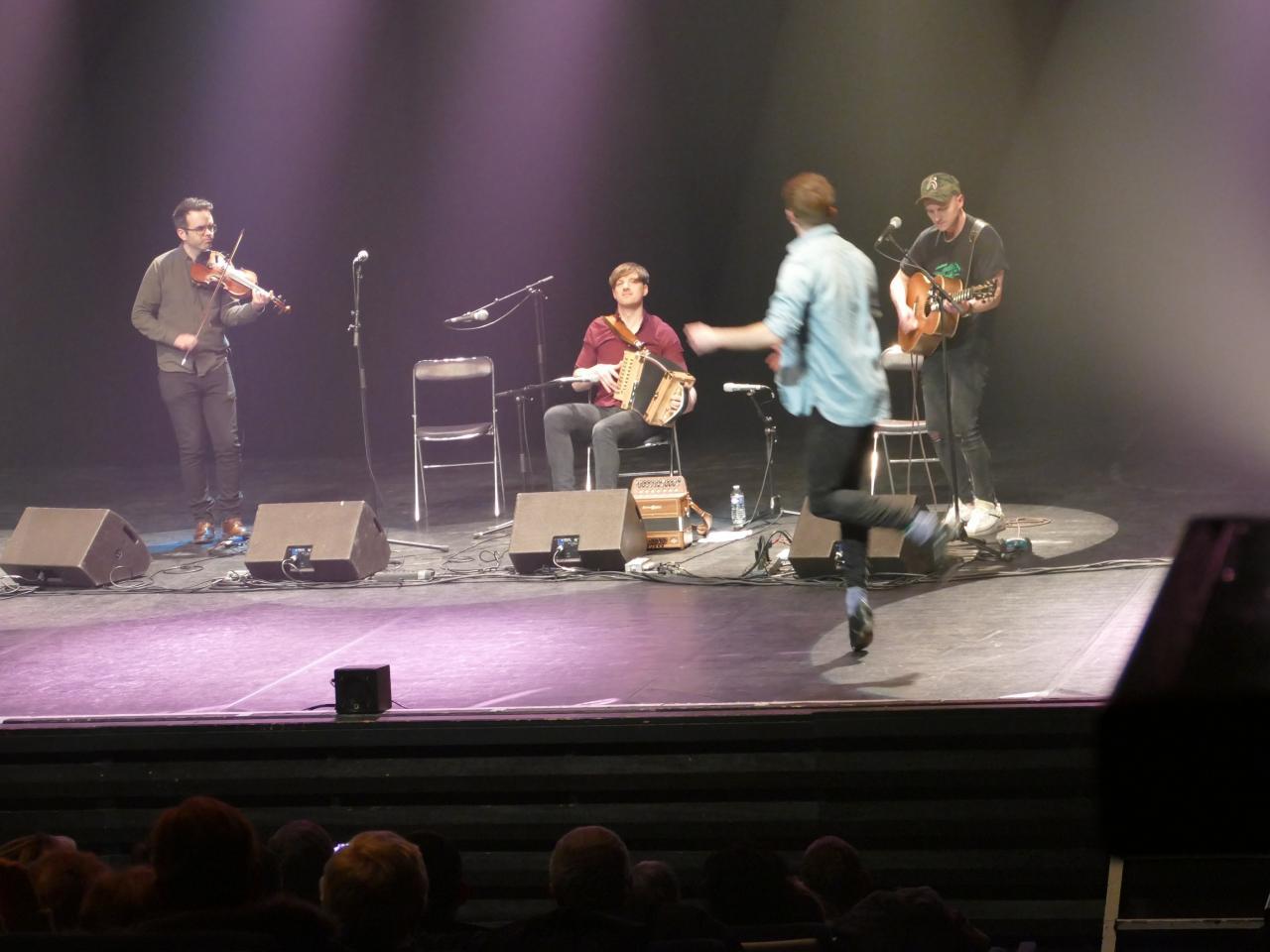 Lens 18 mars 2018 - Damien Mullane Band